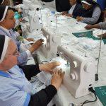 «Las monjas del baloncesto» hacen sus mascarillas con máquinas de coser donadas por Laboratorios BIO-DIS