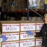 Laboratorios BIO-DIS dona 1.400 kilos de alimentos y superalimentos a Cáritas Parroquial del municipio de La Rinconada, Sevilla